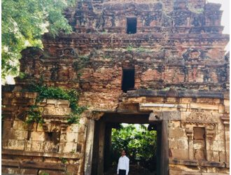 CCVA HINTS AT THE CRACKS ON A 15 TH CENTURY TEMPLE STRUCTURE