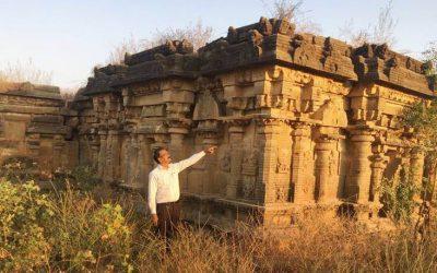 CCVA Locates 13th  Century Temple in Neglect
